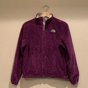 The North Face Osito Fleece Jacket in Purple
